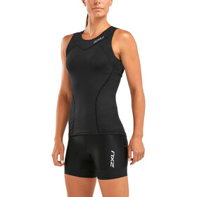 2XU Active Tri Singlet Women black/black